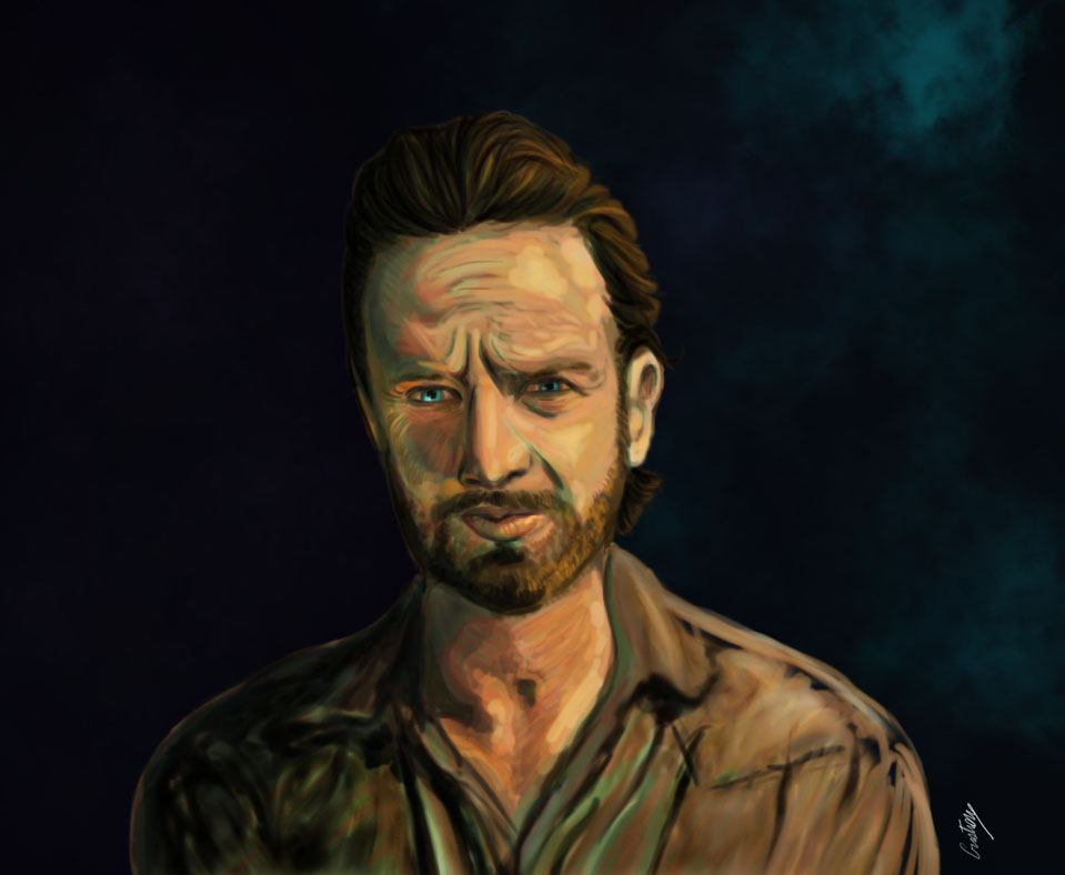 Rick Grimes by pilouuuu