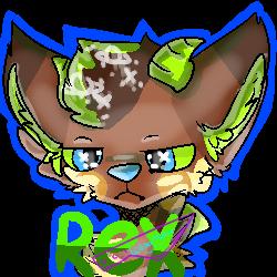 Rex Badge by LokaaMokaa