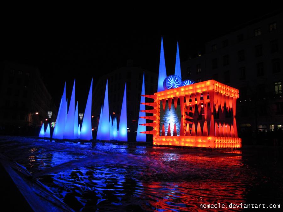 Fetes Des Lumieres Lyon 2012 by nemecle