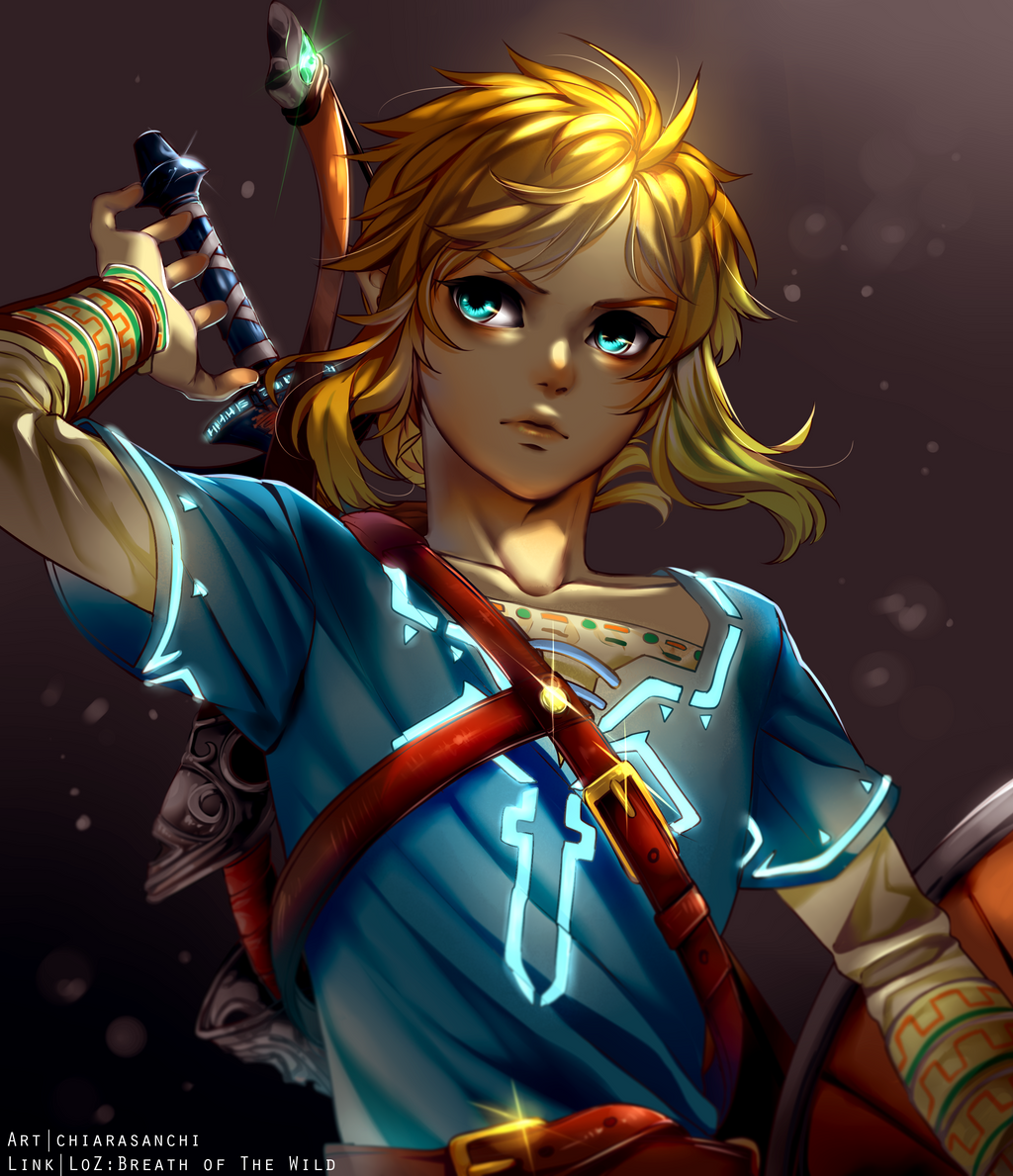 Link And Zelda Fan Art