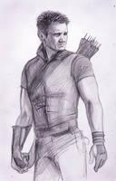 Clint Barton, Hawkeye by DafnaWinchester