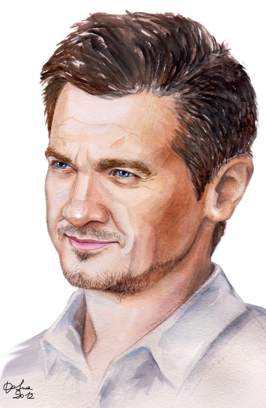 Jeremy Renner by DafnaWinchester
