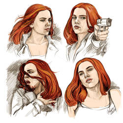 Natasha Romanoff - Born To Die by DafnaWinchester