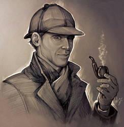 Tom as Sherlock