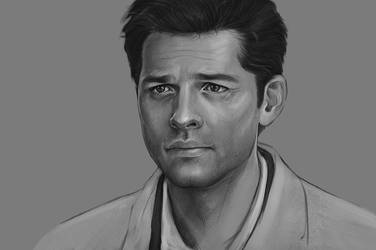 Castiel by DafnaWinchester