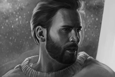 Chris Evans by DafnaWinchester