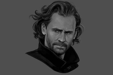 Mr Hiddleston by DafnaWinchester