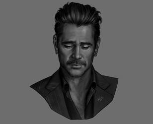 Colin Farrell by DafnaWinchester