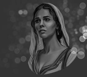 Princess Jasmine by DafnaWinchester