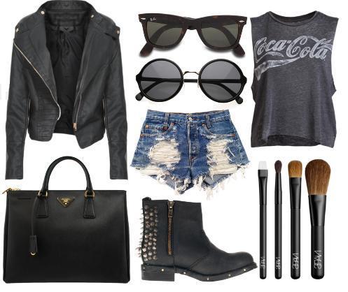 Fashion - Rocker Chic by hip4art