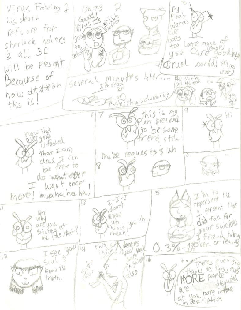 Virus Comic 3 Faked death! by NayuSiminova