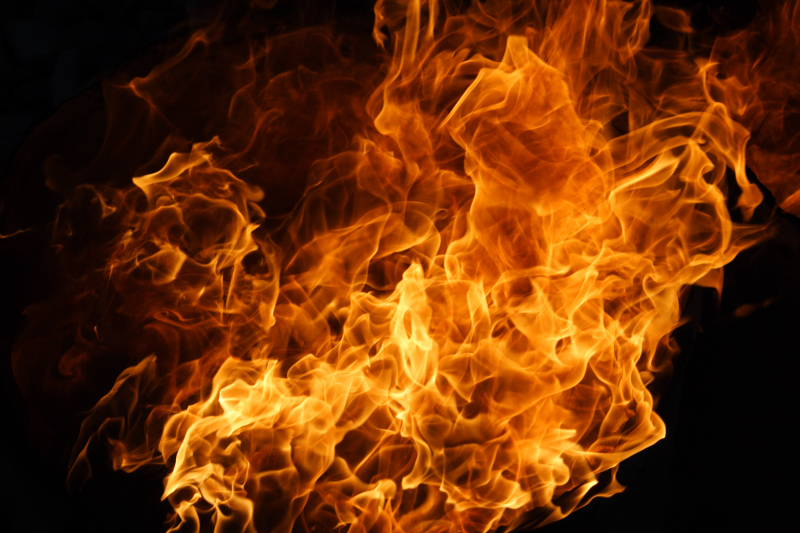 The Gallery For Flaming Football Background Images: Imagenes En Llamas