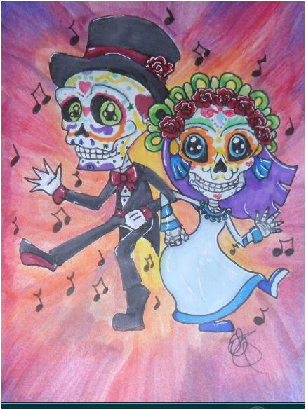 Skull Boogie by hedgiegirl