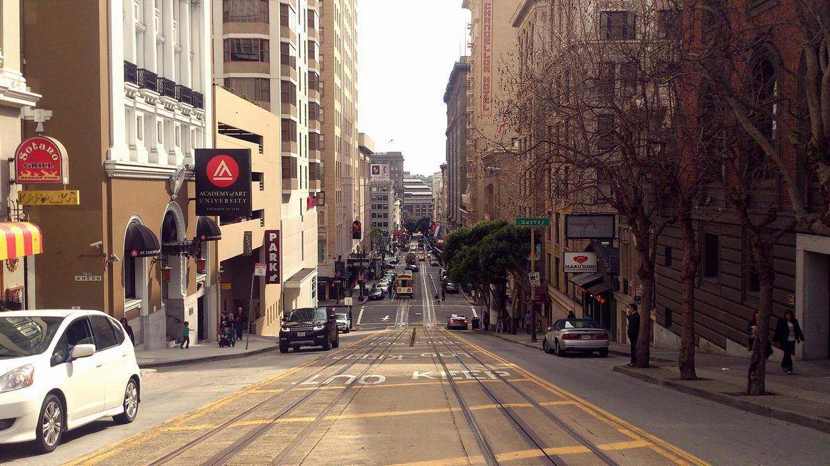 San Francisco by utsavshah