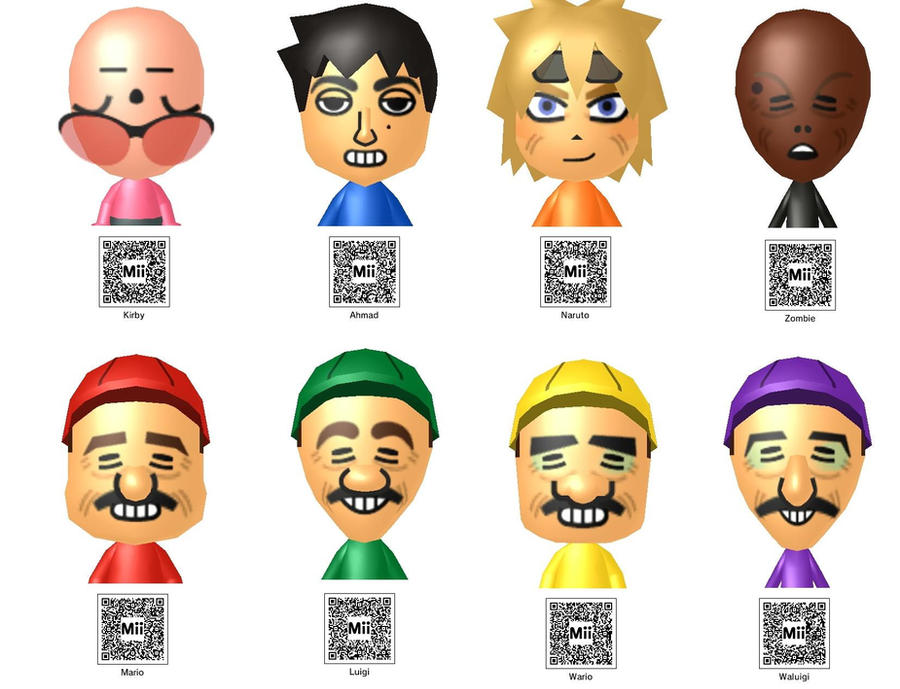 Anime Mii Characters 3ds : Mii s d by sonic boy on deviantart