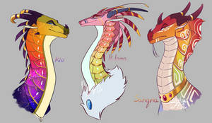 Exotic Golds | ADOPTABLE AUCTION [CLOSED]