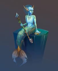 Arctic mermaid concept by CaptainKaktus