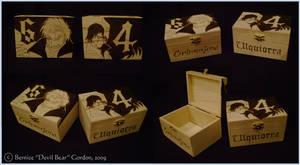 Grimmjow and Ulquiorra Boxes