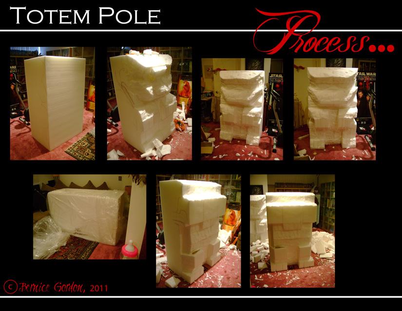 Totem Pole Stage Prop I