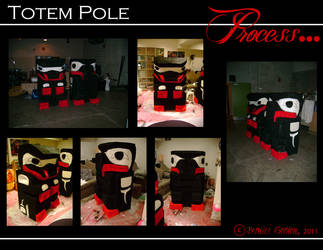 Totem Pole Stage Prop II