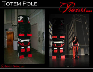 Totem Pole Stage Prop III