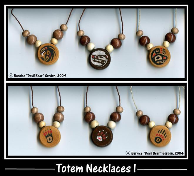 bear totem necklace