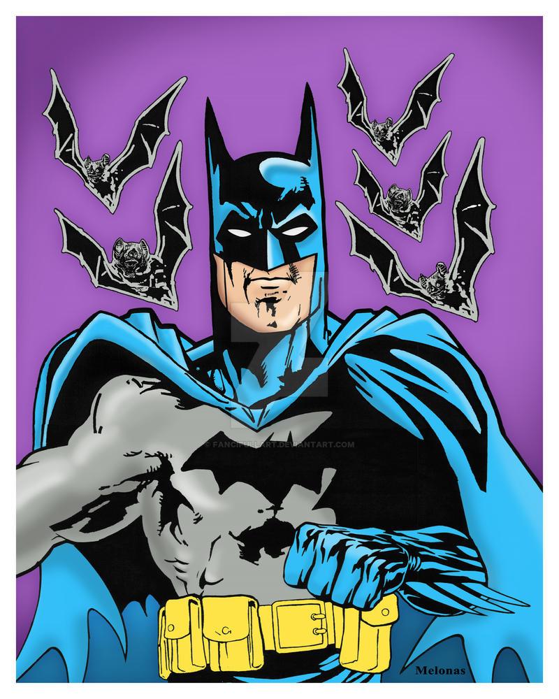 Batman Colorized 09-09-14 by fancifullart