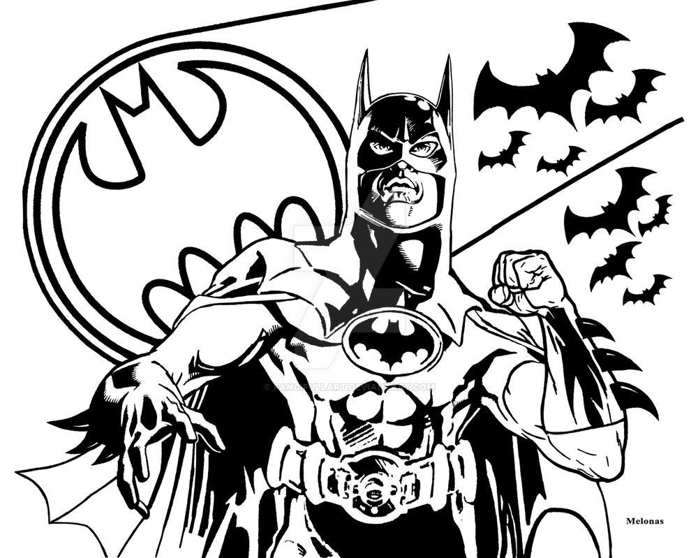 Gotham City's Vigilante by fancifullart
