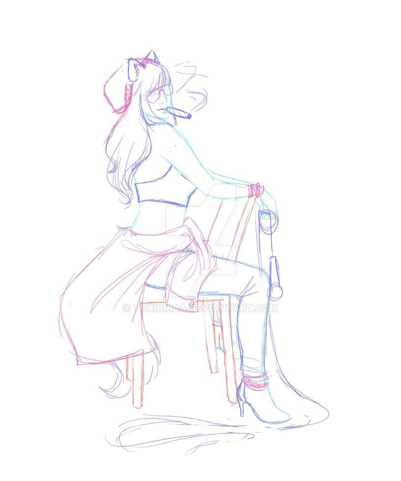 SoG sketch by ToxicKiba