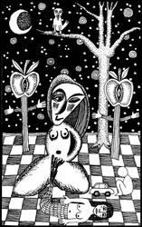The High Priestess by dee-sunshine