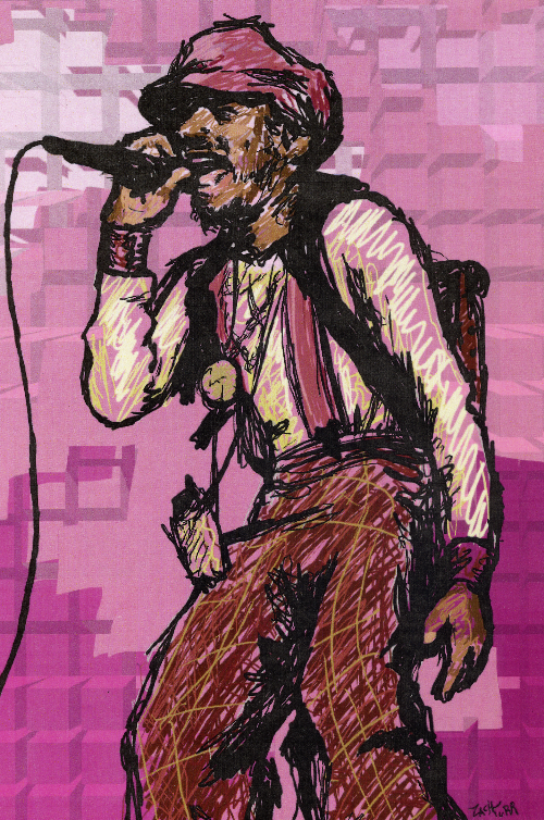 Andre 3000 of OutKast by ZinDinTimeYUM