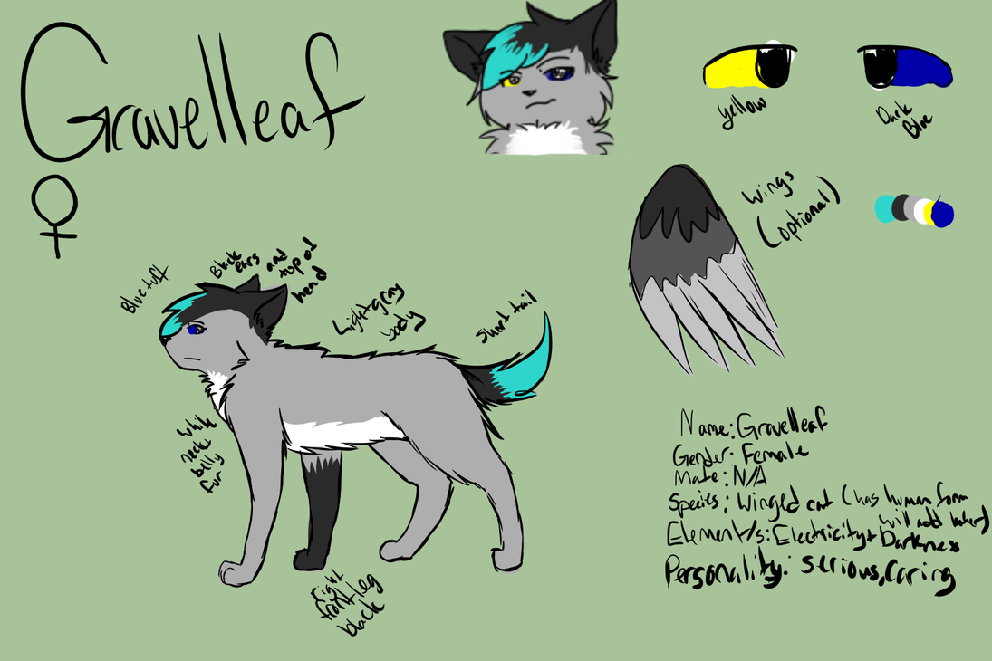 Gravelleaf Reference (lazily done) by Gravelleaf