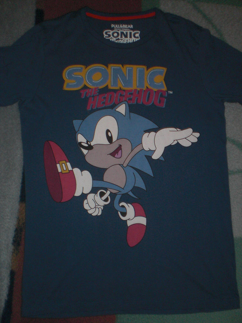 Camiseta Sonic! 1 by Inazumasonic24