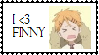 finny stamp by amyosaurus-rex