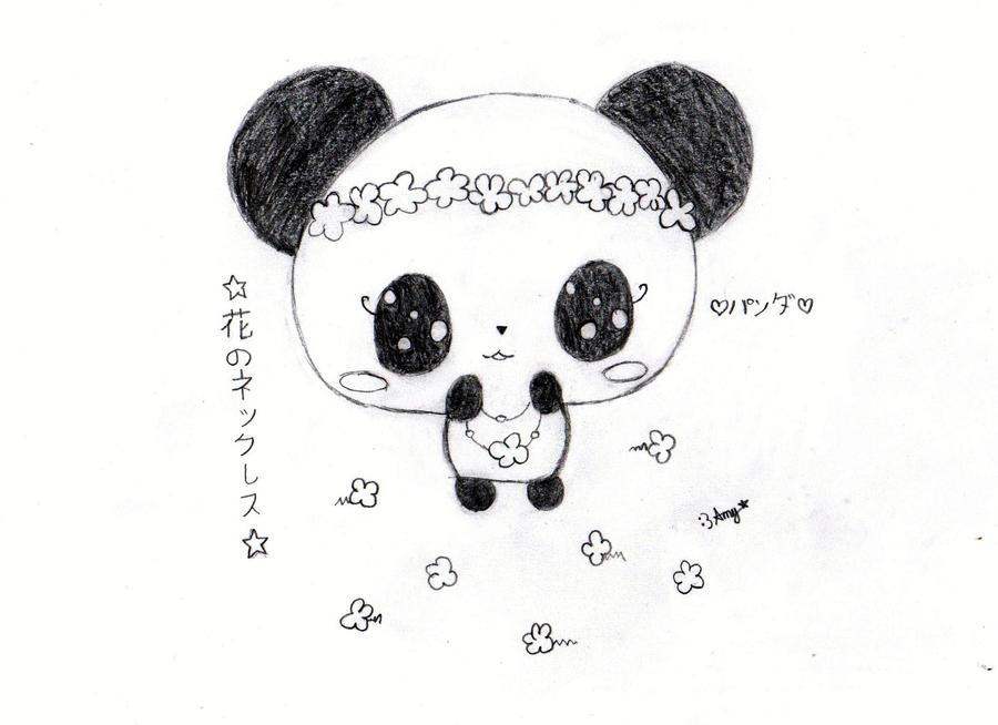 Chibi Panda By Amyosaurus Rex