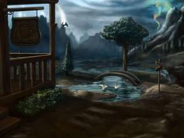 The Lost Village by MichaelPhoenix