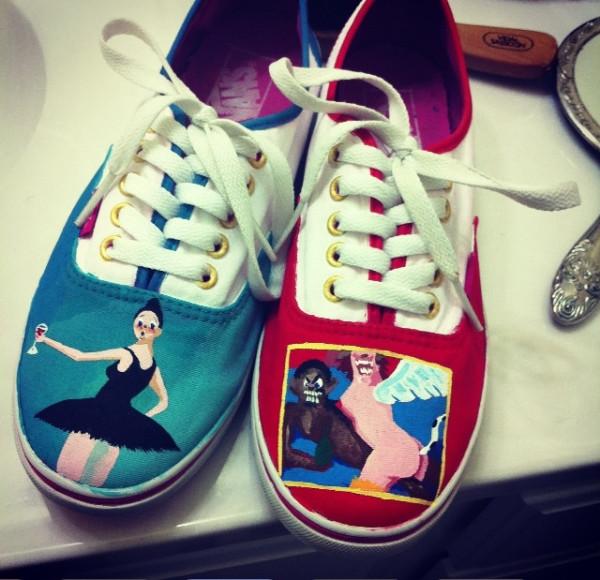 MBDTF Kanye West Vans By Creativityism