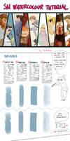 SAI watercolour tutorial