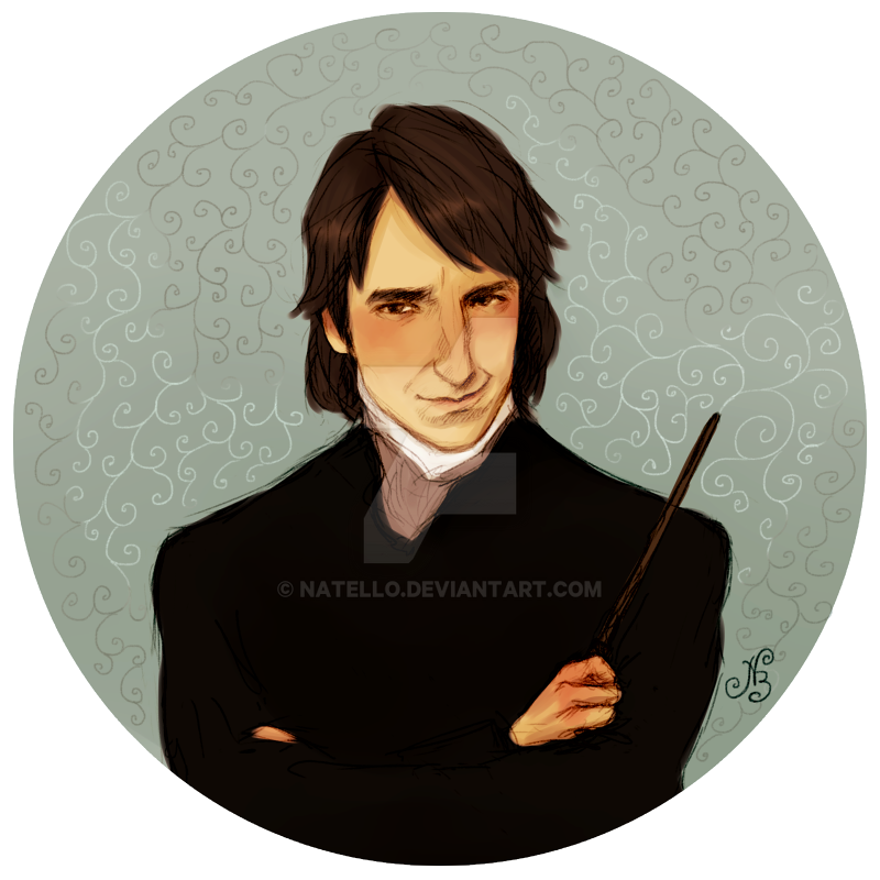 Professor Severus Snape by Natello on DeviantArt