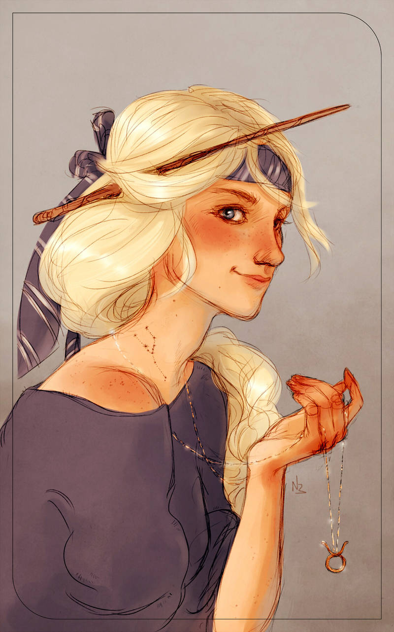Victoire Weasley by Natello