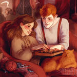 Hermione and Fred
