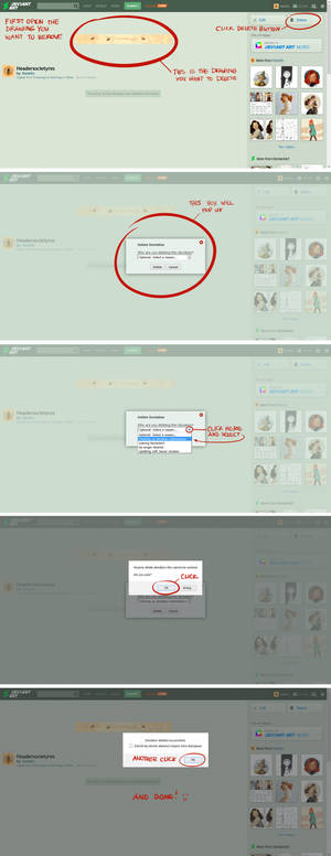 Tutorial How To Delete The Drawing