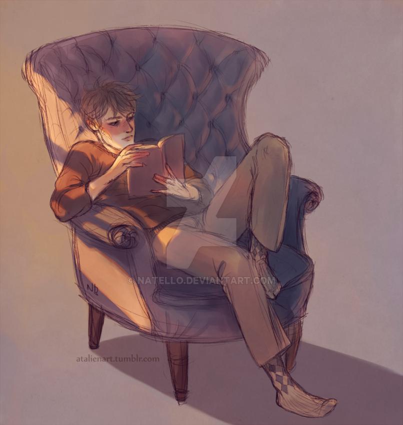 Reading by Natello