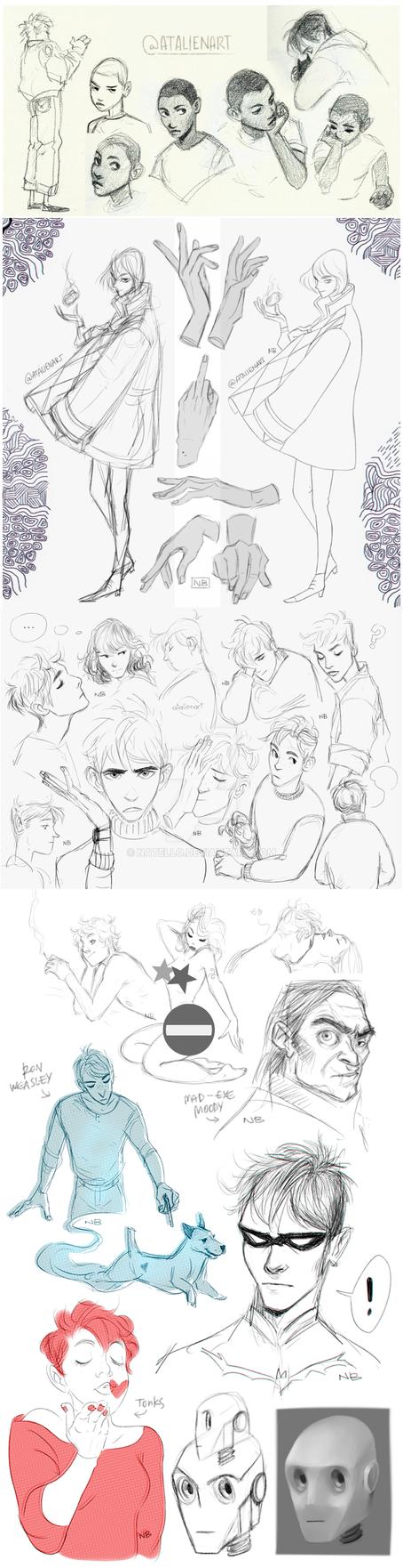 Sketch dump by Natello