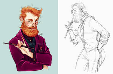 Young Dumbledore by Natello