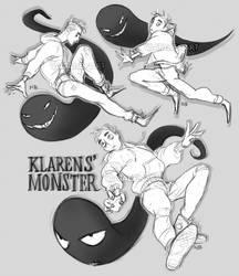 Klarens' Monster by Natello