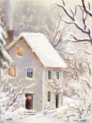 Winter house by Natello