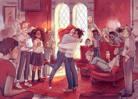The Kiss by Natello