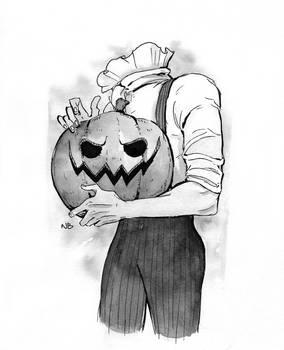4. Pumpkin (#inktober2019)