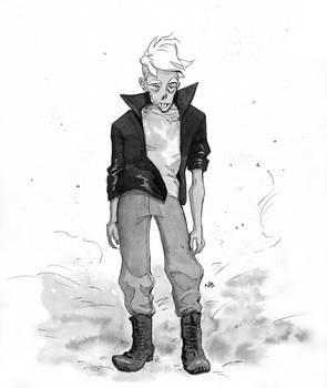 6. Zombie (#inktober2019)